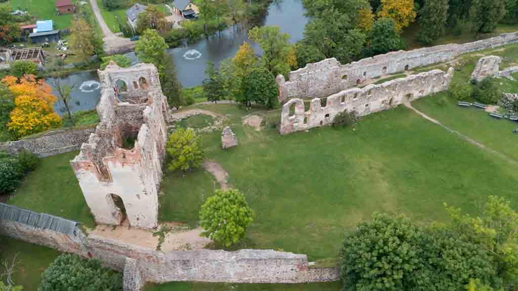Best Latvian Castles-Dobele-Castle