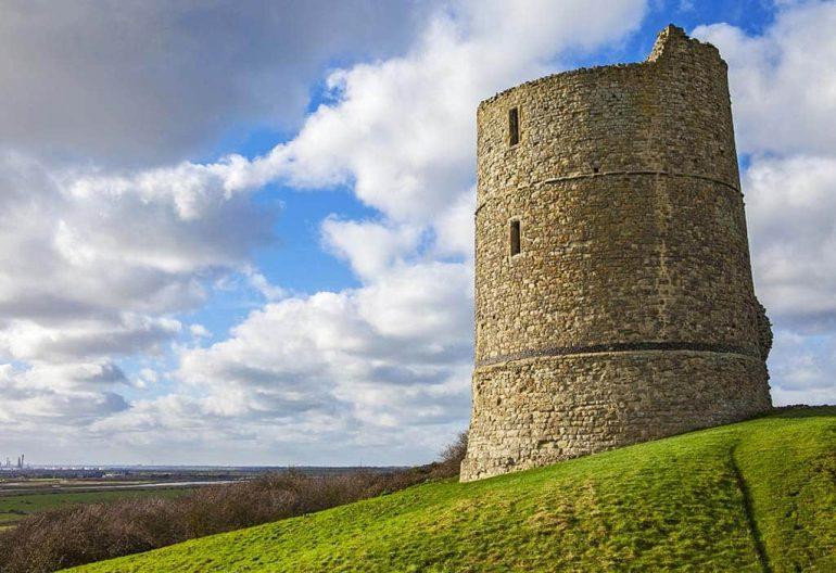 Hadleigh Castle best castles in Essex