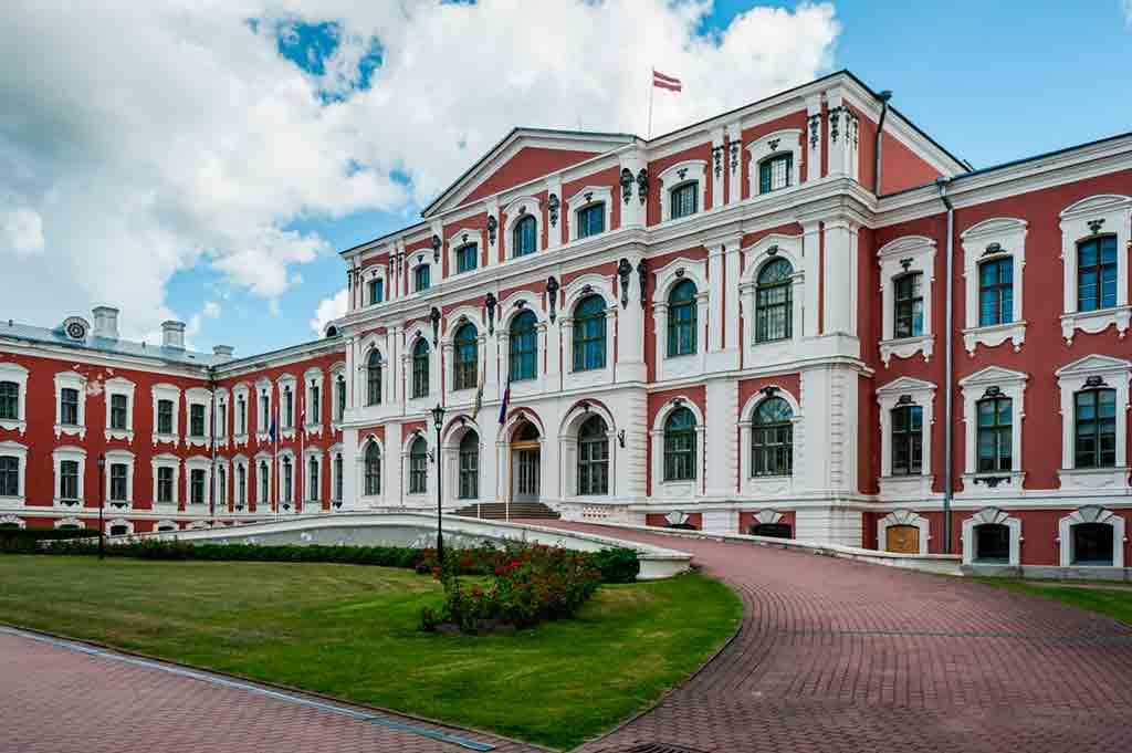 Famous Castles in Latvia-Jelgava-Palace