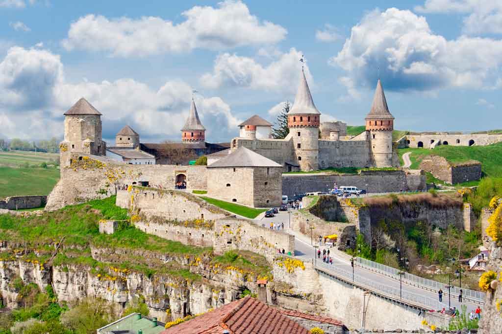 Best Ukrainian Castles-Kamianets-Podilskyi-Castle