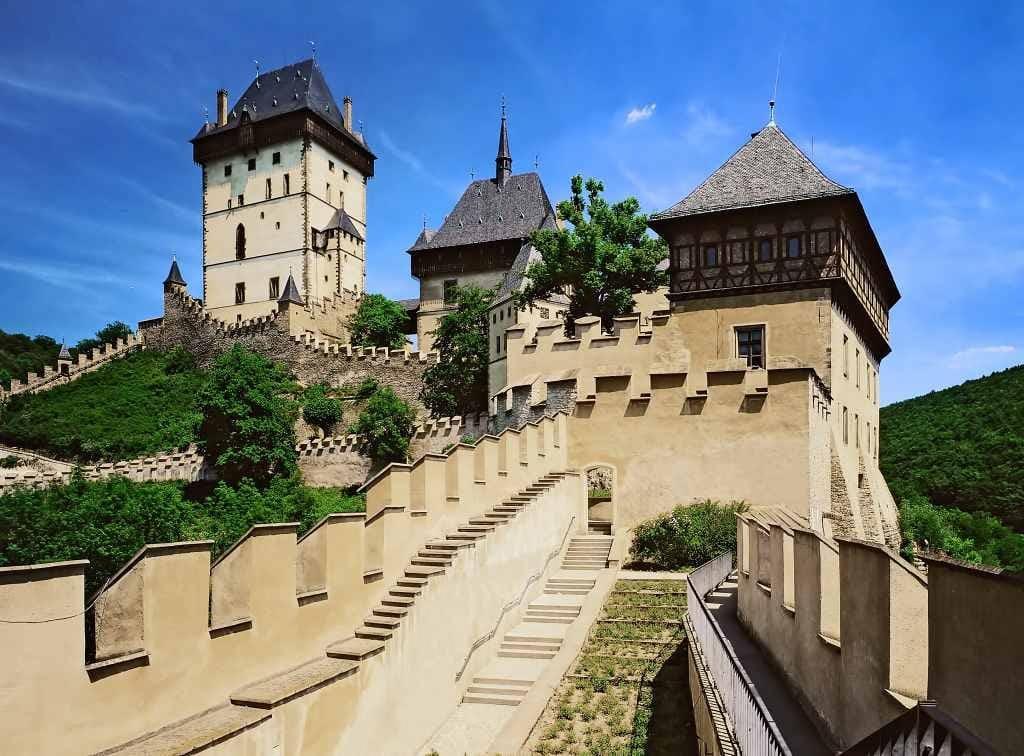 Karlštejn Castle - best castles near Prague
