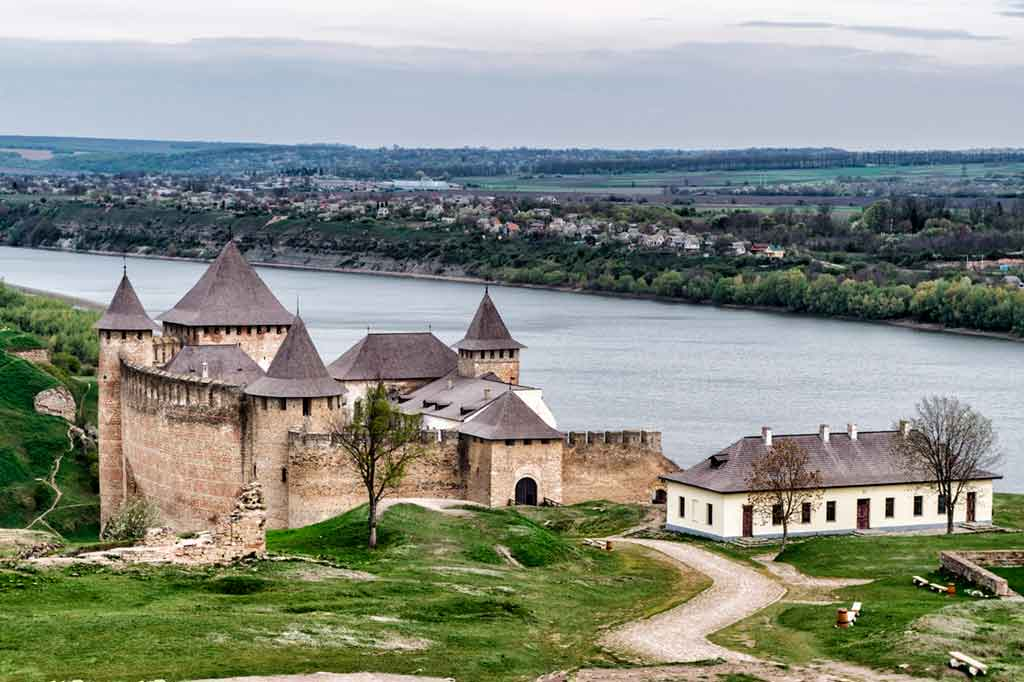 Castles in Ukraine -Khotyn-Fortress
