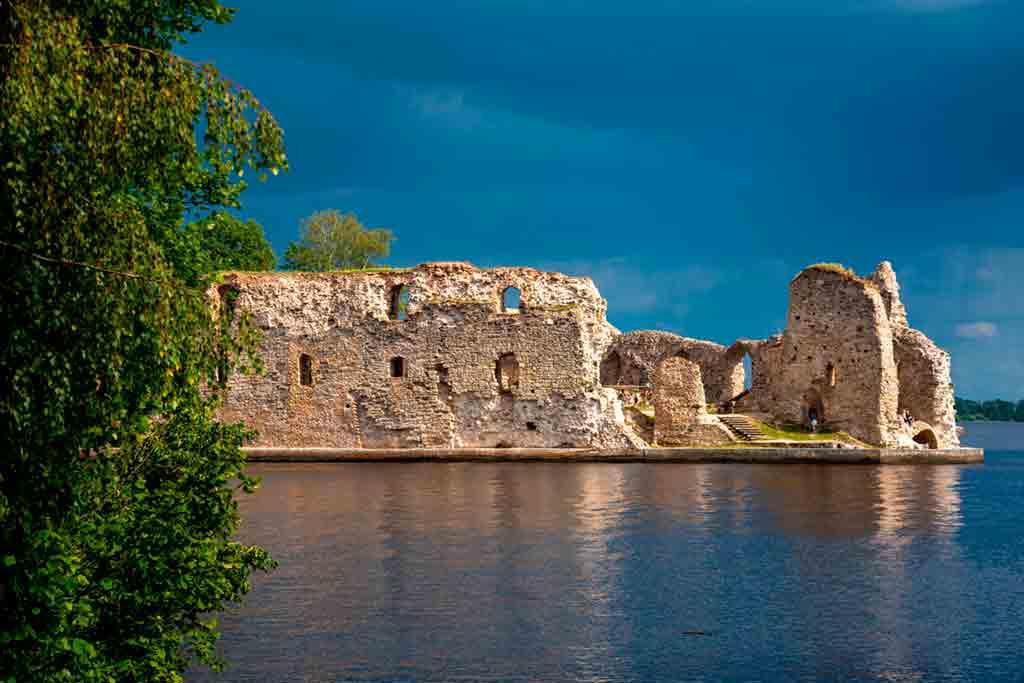 Latvian Castles-Koknese-Castle