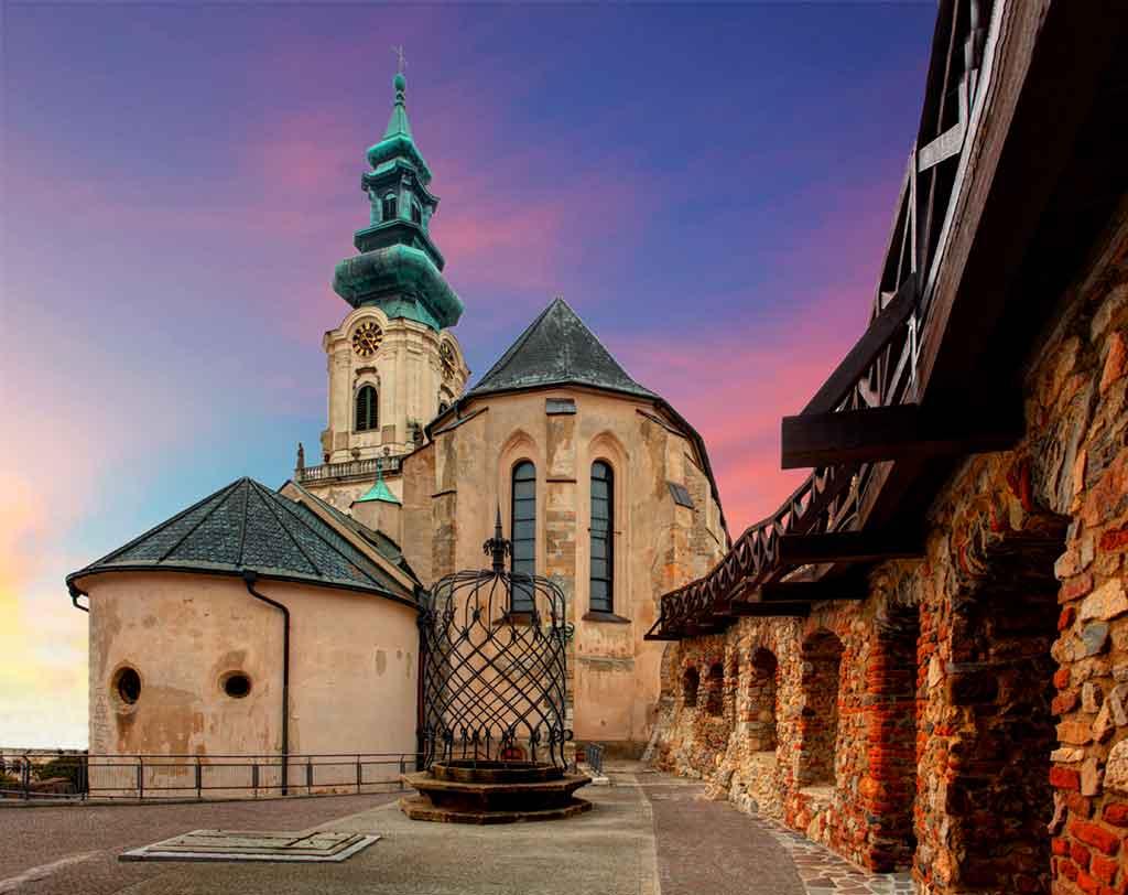 Castles in Slovakia-Nitra-Castle