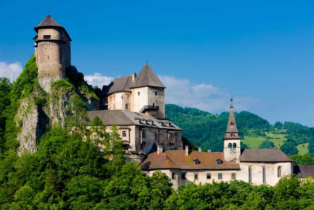 Castles in Slovakia-Orava-Castle