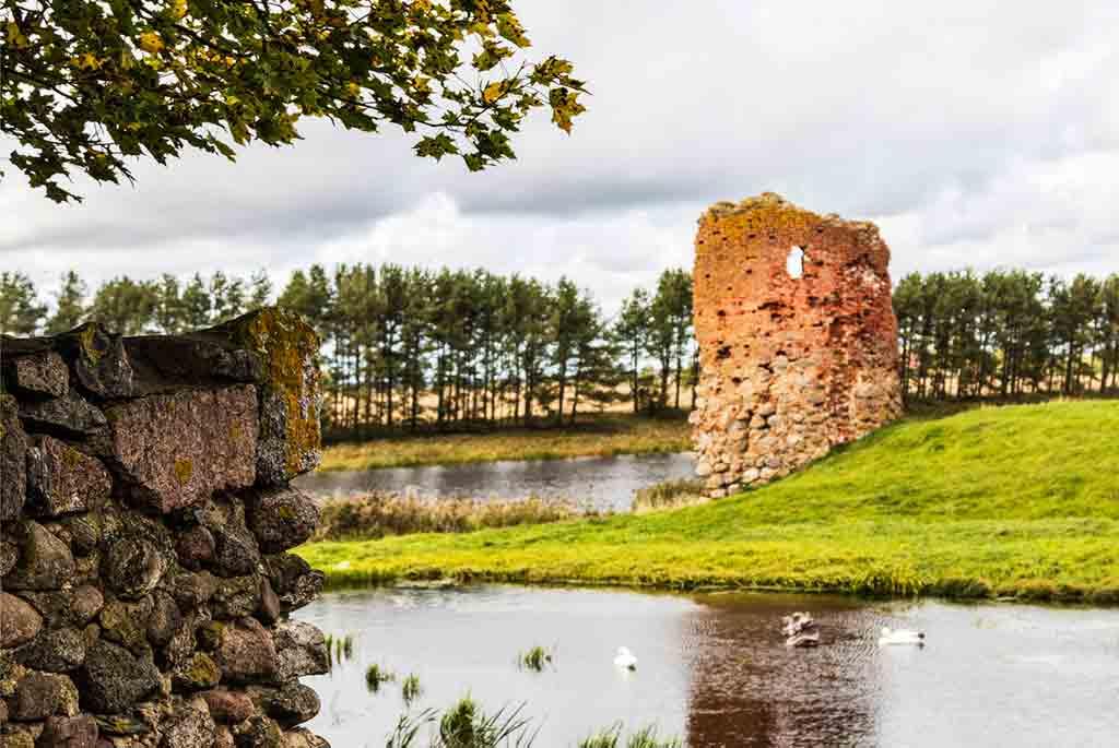Best Latvian Castles-Piltene