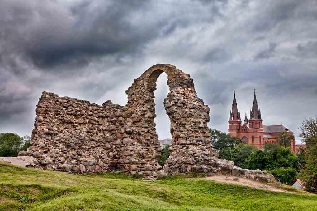 Latvian Castles-Rēzekne-Castle