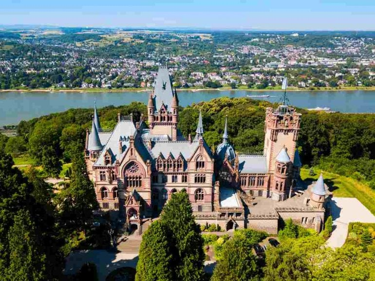 Schloss Drachenburg - castles near Cologne