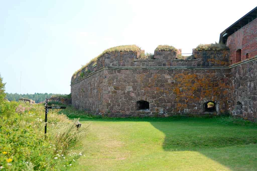 Finnish Castles-Svartholm-fortress