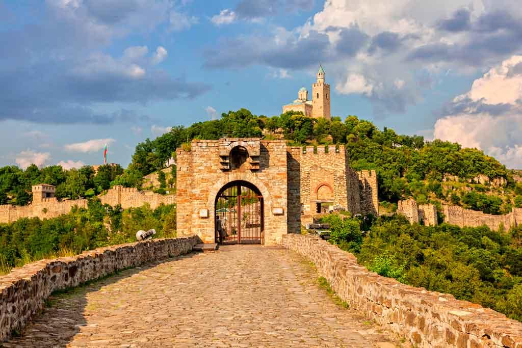 Bulgarian Castles-Tsarevets-Castle