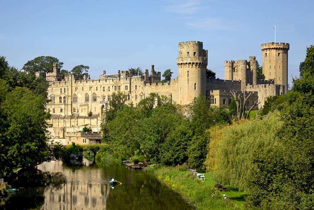 Warwick Castle - best castle in Britain