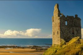 Greenan Castle one of the best castles to visit in Ayrshire