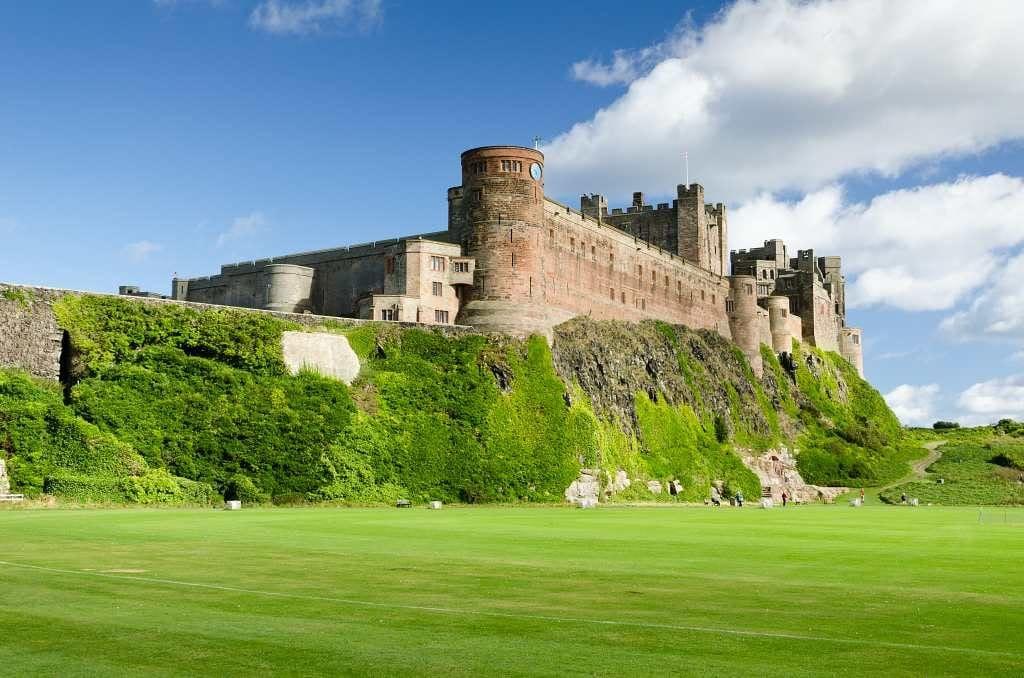 Bamburgh Castle - best castles in the UK