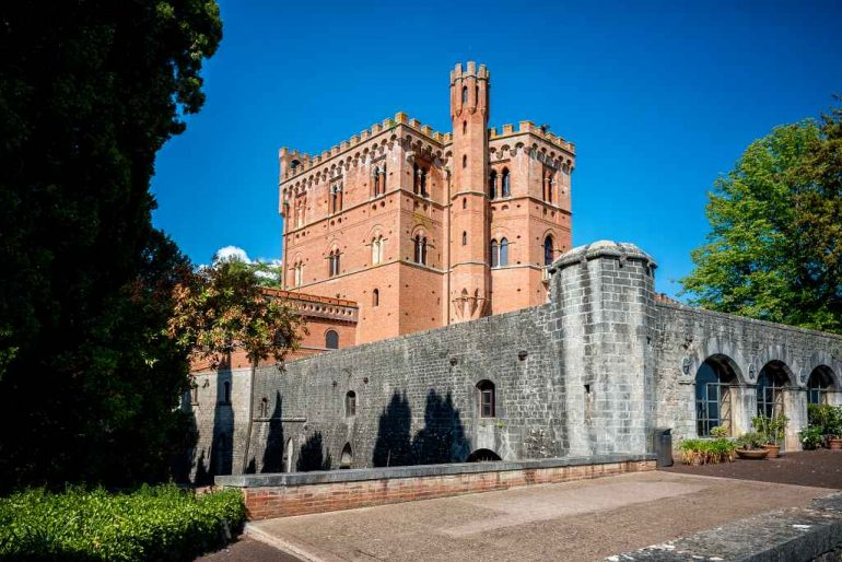 Castle of Brolio - best castles in Tuscany