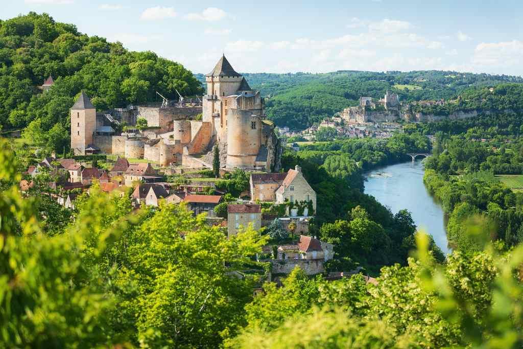 Château de Castelnaud-la-Chapelle - castles in Dordogne