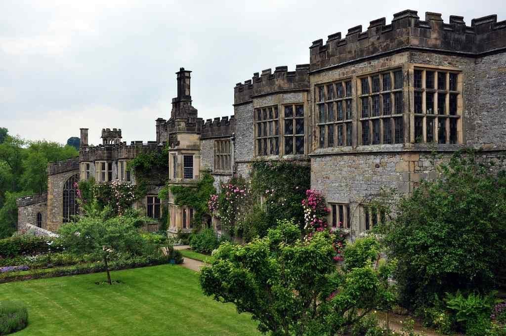 Haddon Hall - castles in Derbyshire