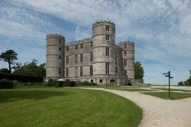 Lulworth Castle - best castles in Dorset