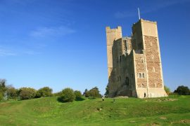 Orford Castle Suffolk