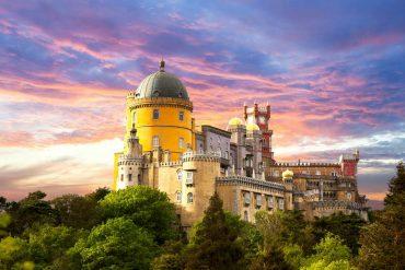 Pena palace - castles near Lisbon