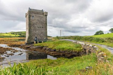 Rockfleet Castle in county Mayo