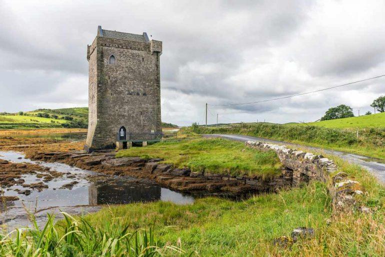 Rockfleet Castle in county Mayo