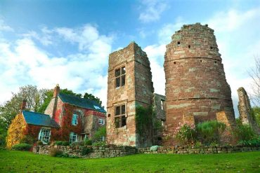Wilton Castle in Herefordshire