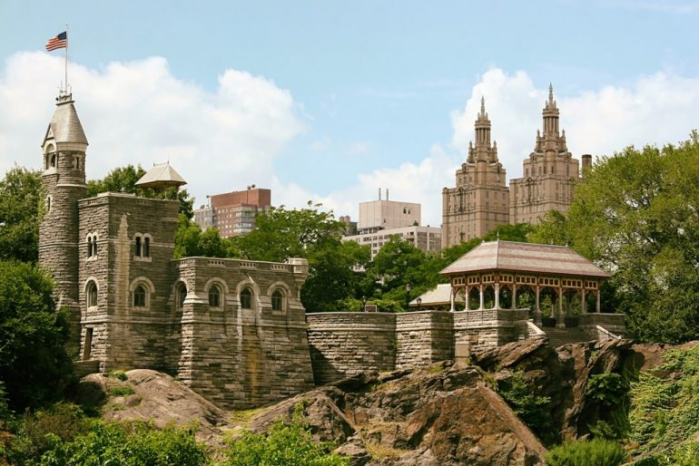 Belvedere castle - Best Castles in the USA