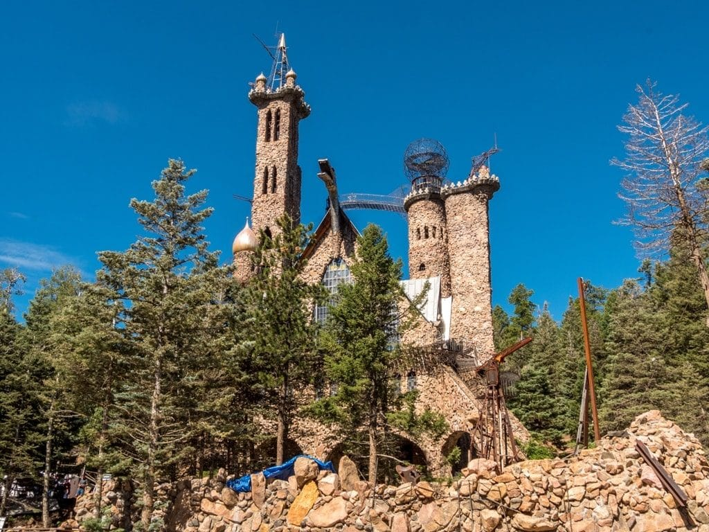 Bishop Castle - best castles in the USA