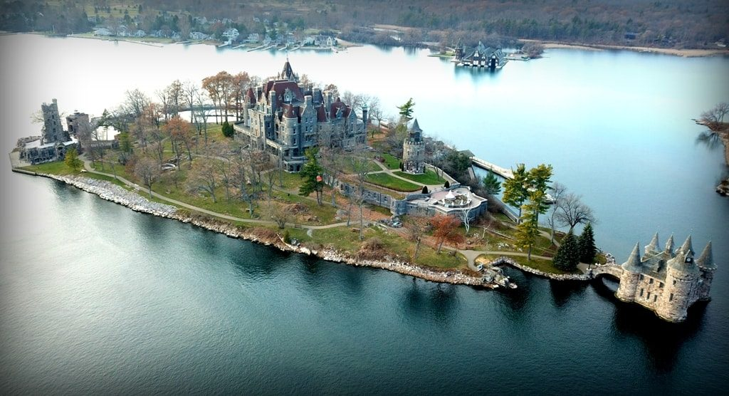 Boldt Castle - castles in the USA