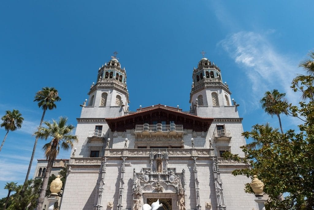 Hearst Castle - best castles in the US