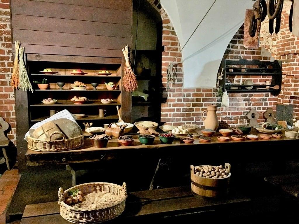 Malbork Castle Kitchen
