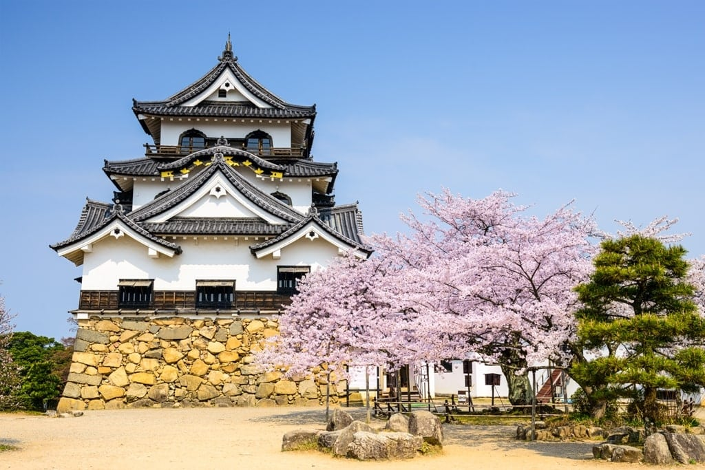 Hikone Castle  - Japanese castles