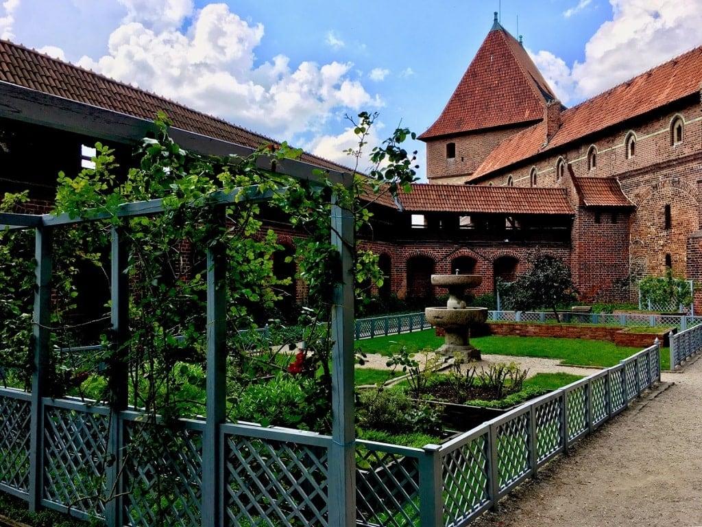 Malbork Castle Garden