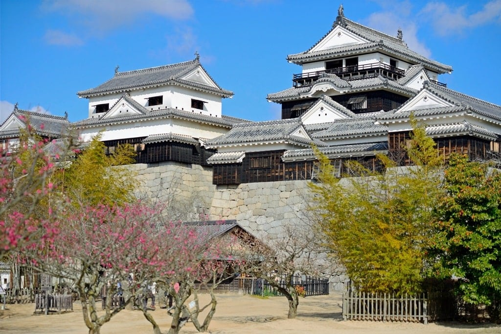 Matsuyama Castle - best castles in Japan