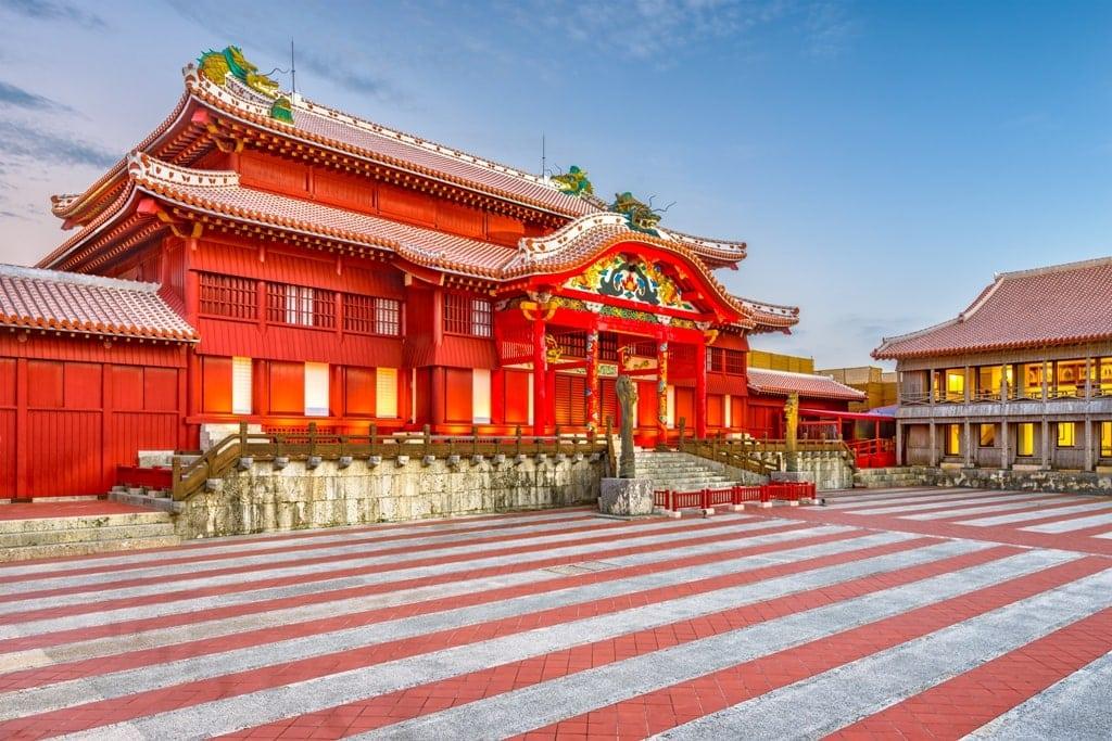 Shuri Castle  Japan