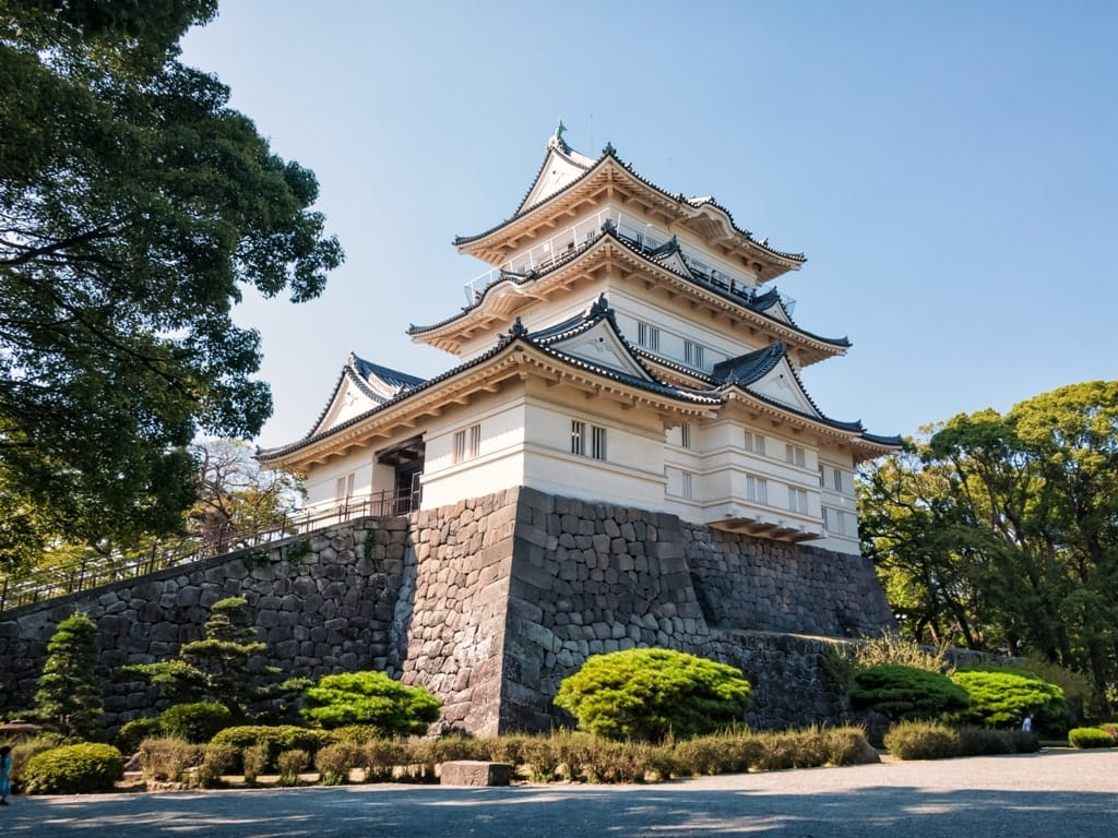best castles in Japan - Odawara Castle