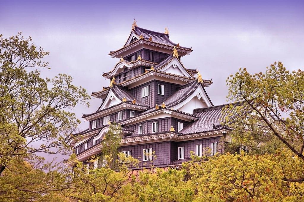 Okayama Castle - castle in Japan