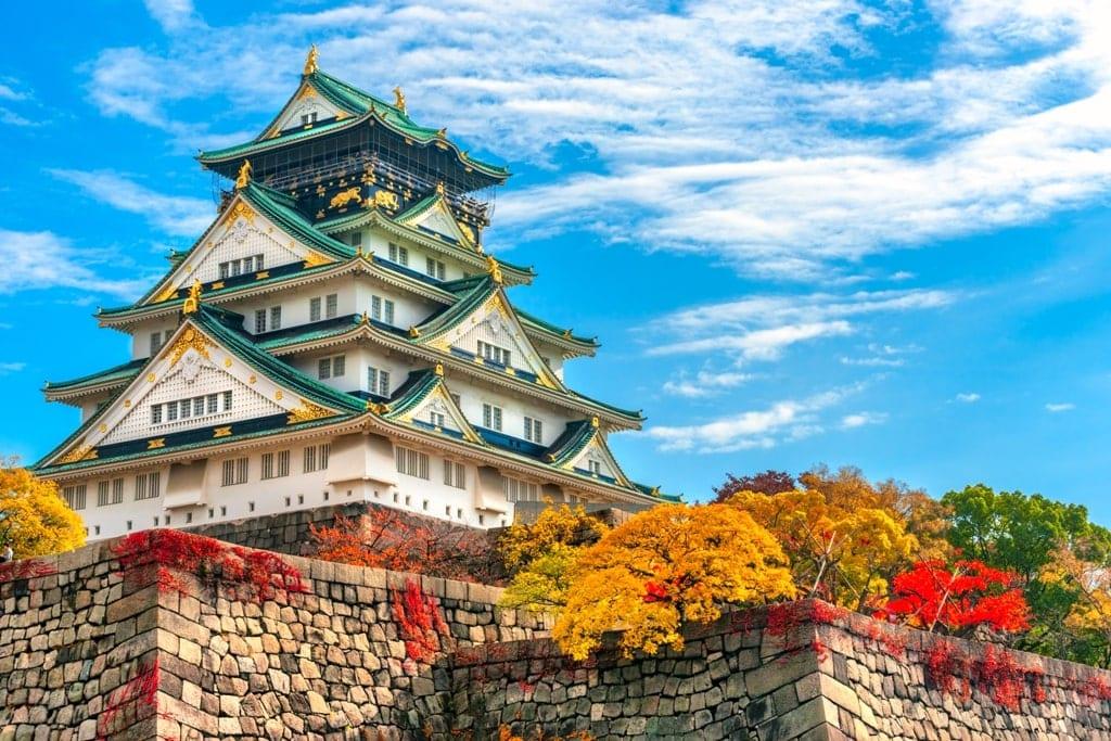 Osaka Castle famous Japanese Castles