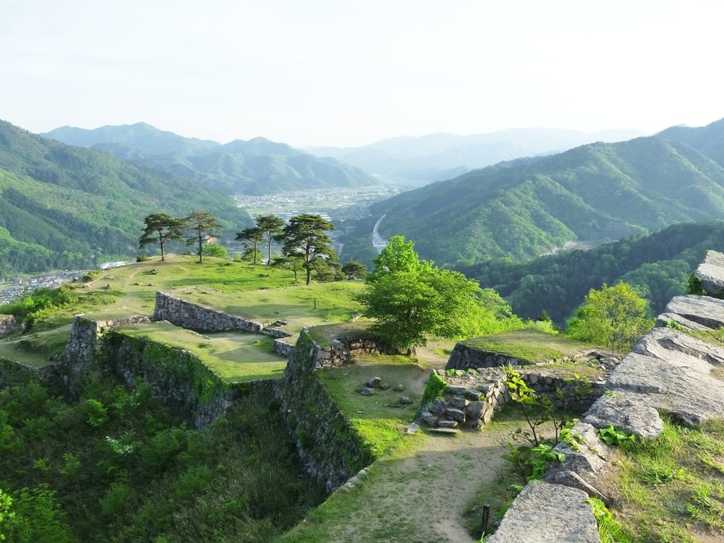Takeda Castle - Castle in Ruins Japan