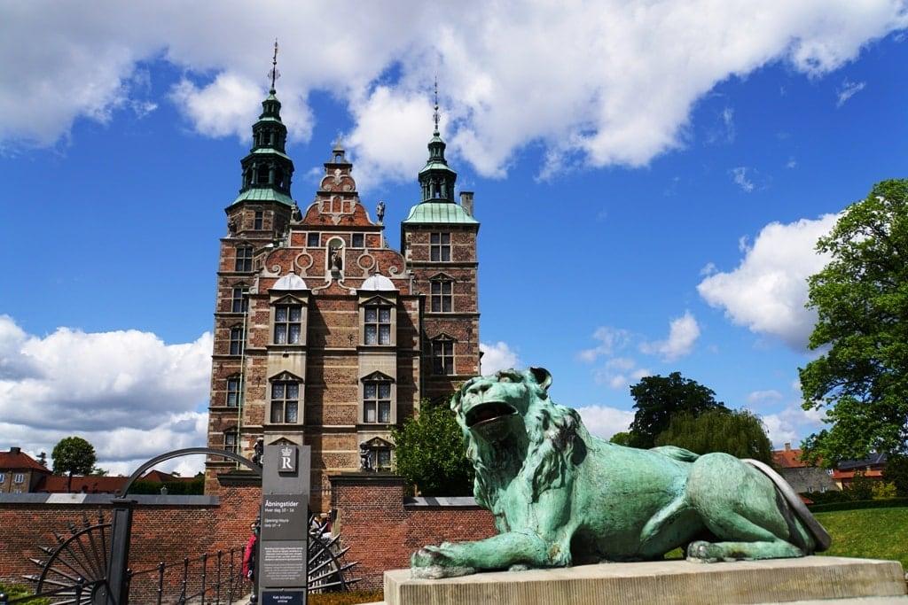 Rosenborg Castle in Denmark