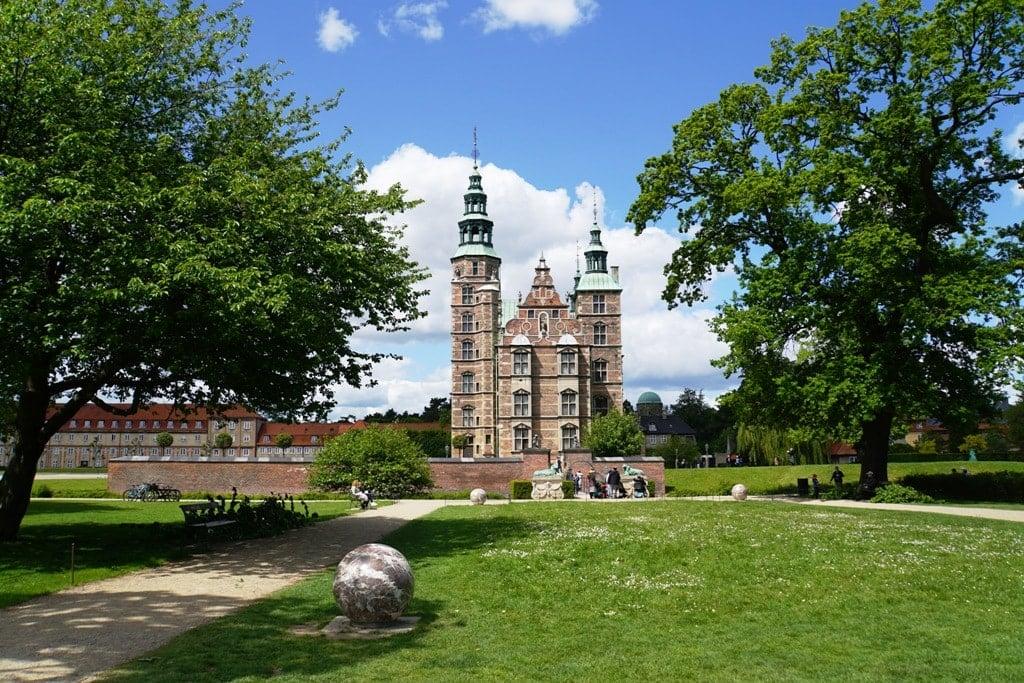 Rosenburg Castle Copenhagen Denmark