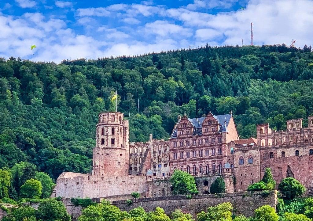 Hedelberg Castle in Geramny