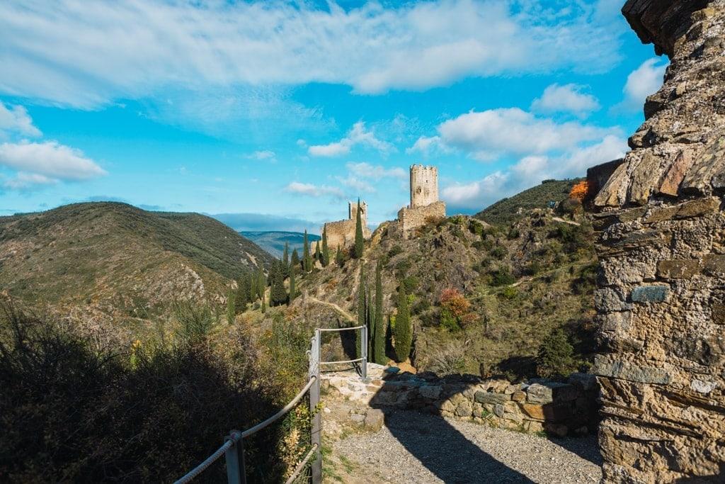 Cathar Castles  - Lastours