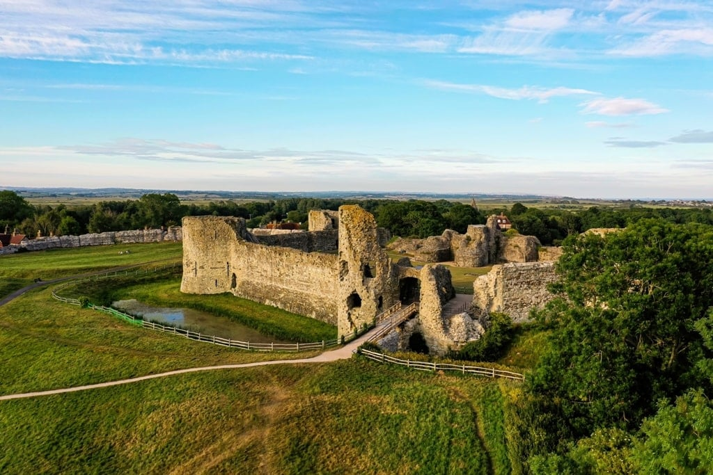 Pevensey Castle - William the Conqueror Castles