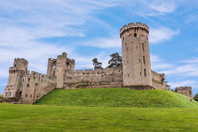 Warwick Castle is one of the oldest castles in the world