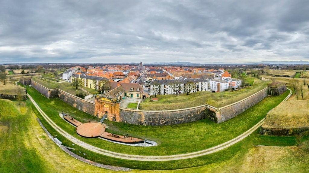 Neuf-Brisach - Star Forts