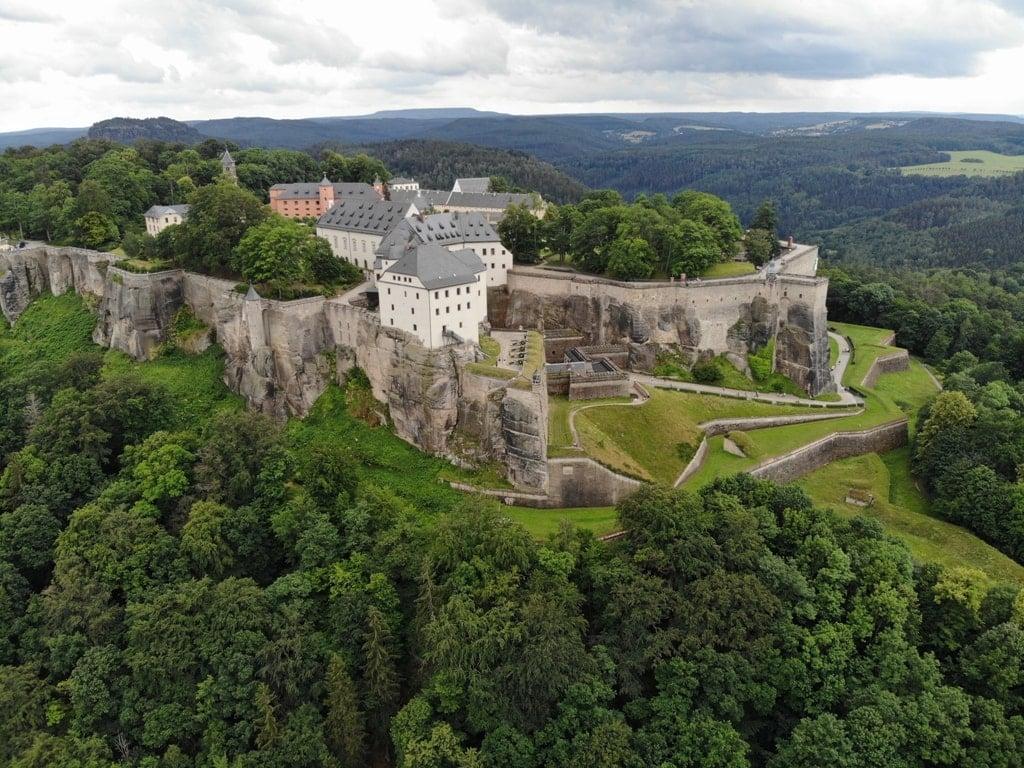 Fortress Königstein - castles near Dresden