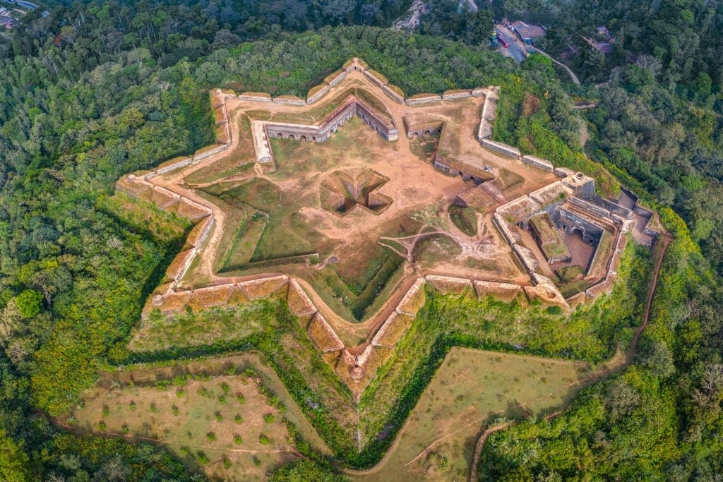 Manjarabad-Fort-in-Karnataka-India