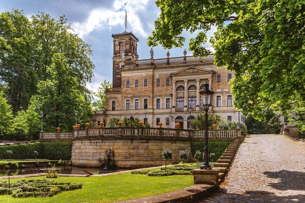 Albrechtsberg Castle in Dresden,