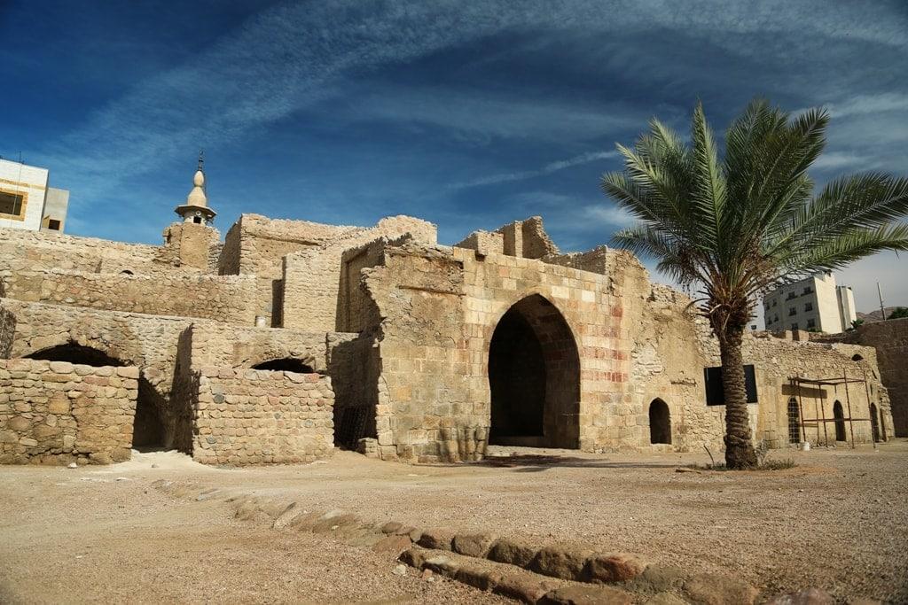 Aqaba Castle in Jordan